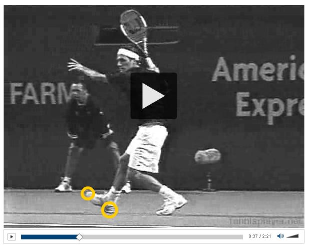 NY Times - Roger Federer's Footwork