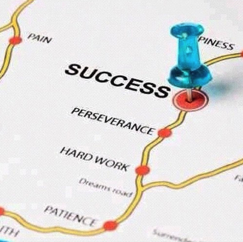 Success = Perseverance + Hard Work + Patience