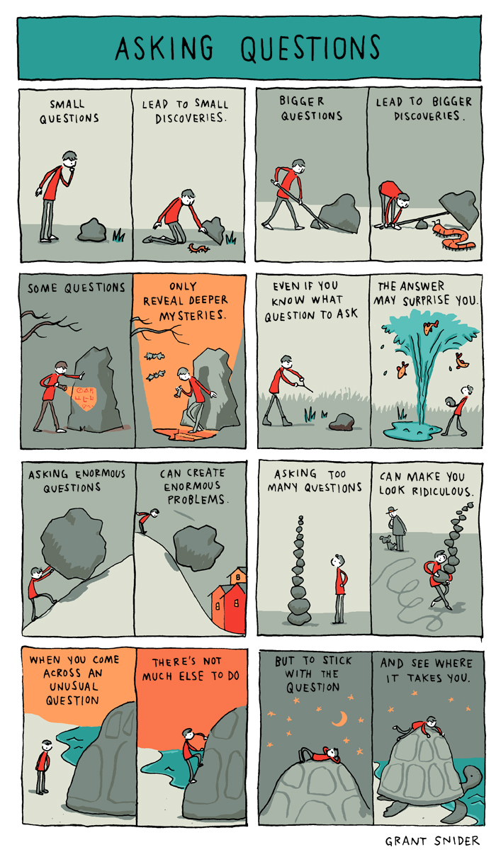 Asking Questions-Grant Snider